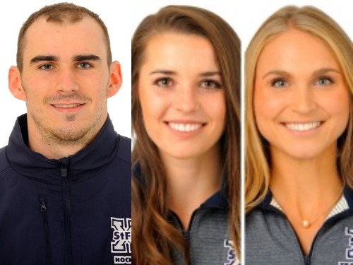 Hockey goaltender and pair of track and field competitors earn athlete of the week honours