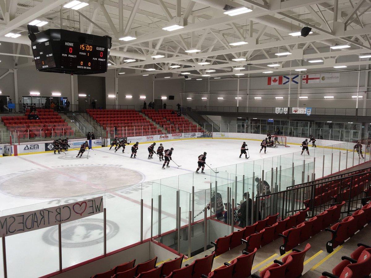 Nova Scotia Major Midget Hockey League playoff results (from Membertou Tuesday)