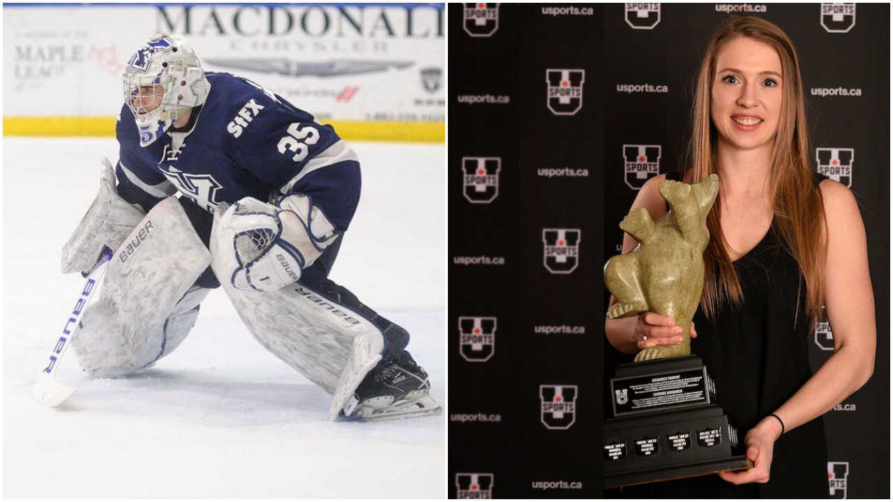 Pair of StFX hockey players earn national hardware