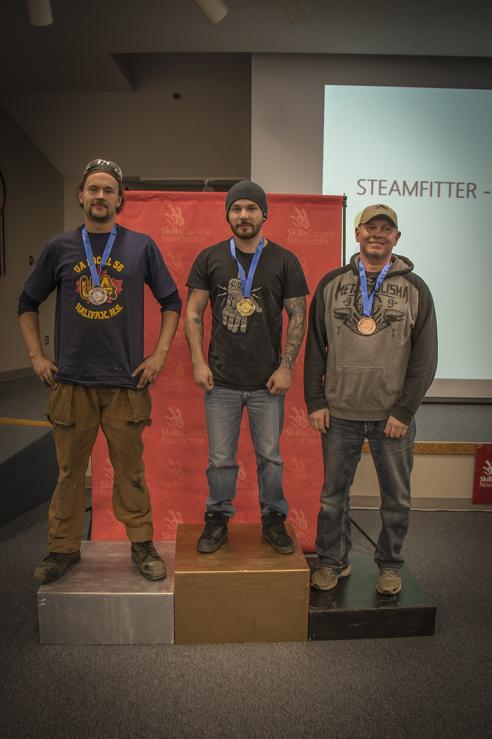 Local students earn medals at skills competition