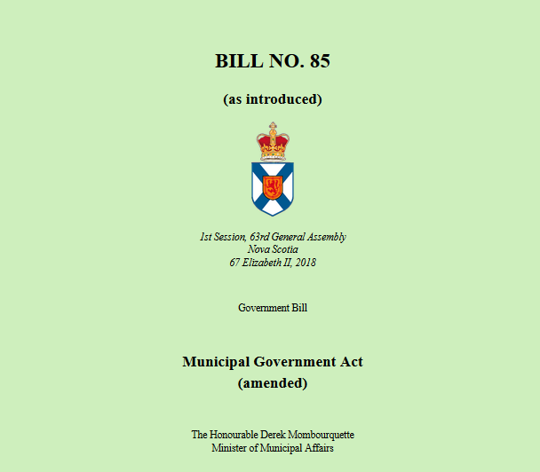 Mayor of Mulgrave disappointed with passing of Bill 85