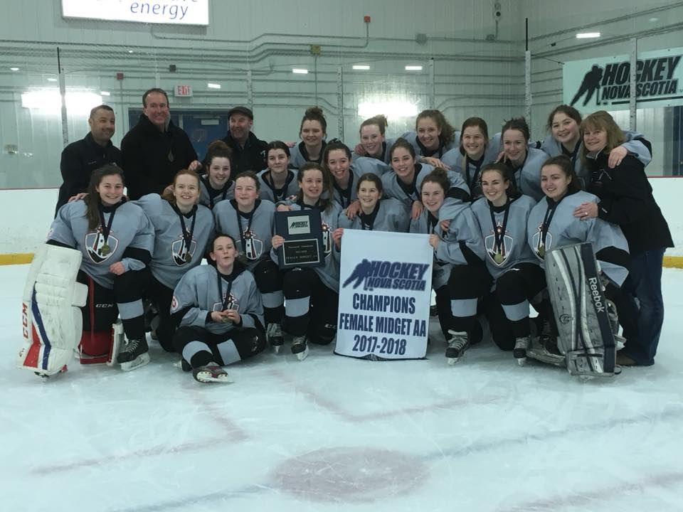 Midget AA Girls Provincials (From St Margaret's Bay Sunday)