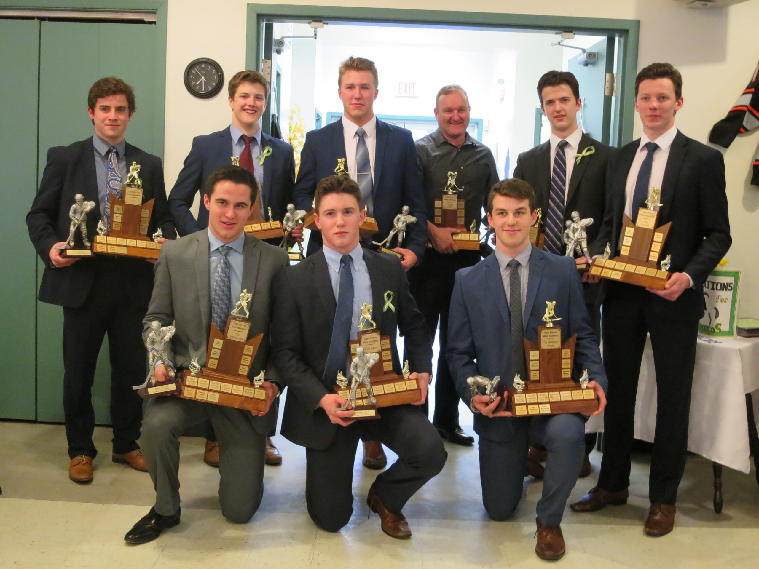 Islanders hand out year-end awards