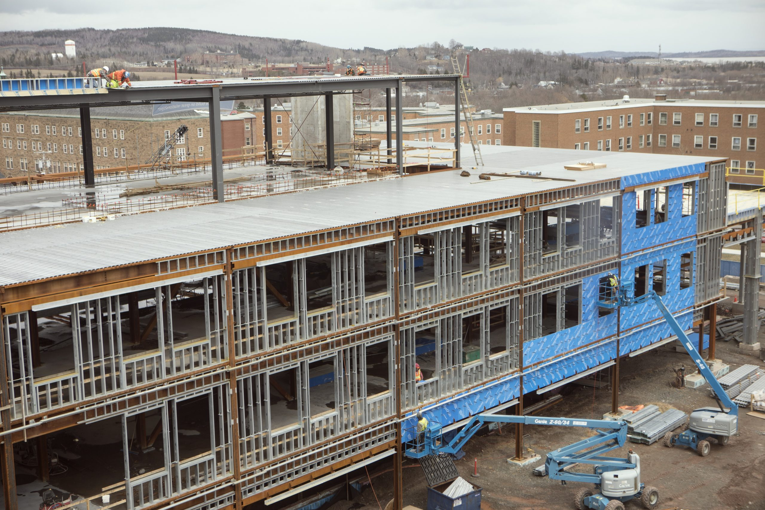 StFX officials say they're pleased with Mulroney Institute construction