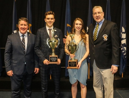 Oddy, Hayfield, Rawling honoured at StFX Athletics banquet