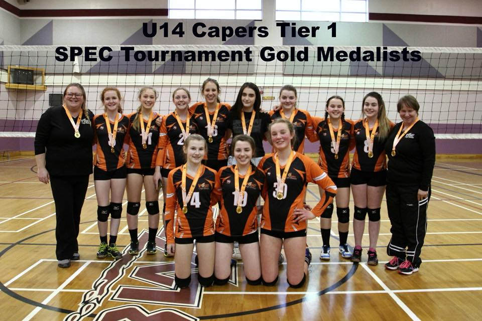 SPEC U14 Tier 1 girls volleyball tournament results (from Sydney Sunday)