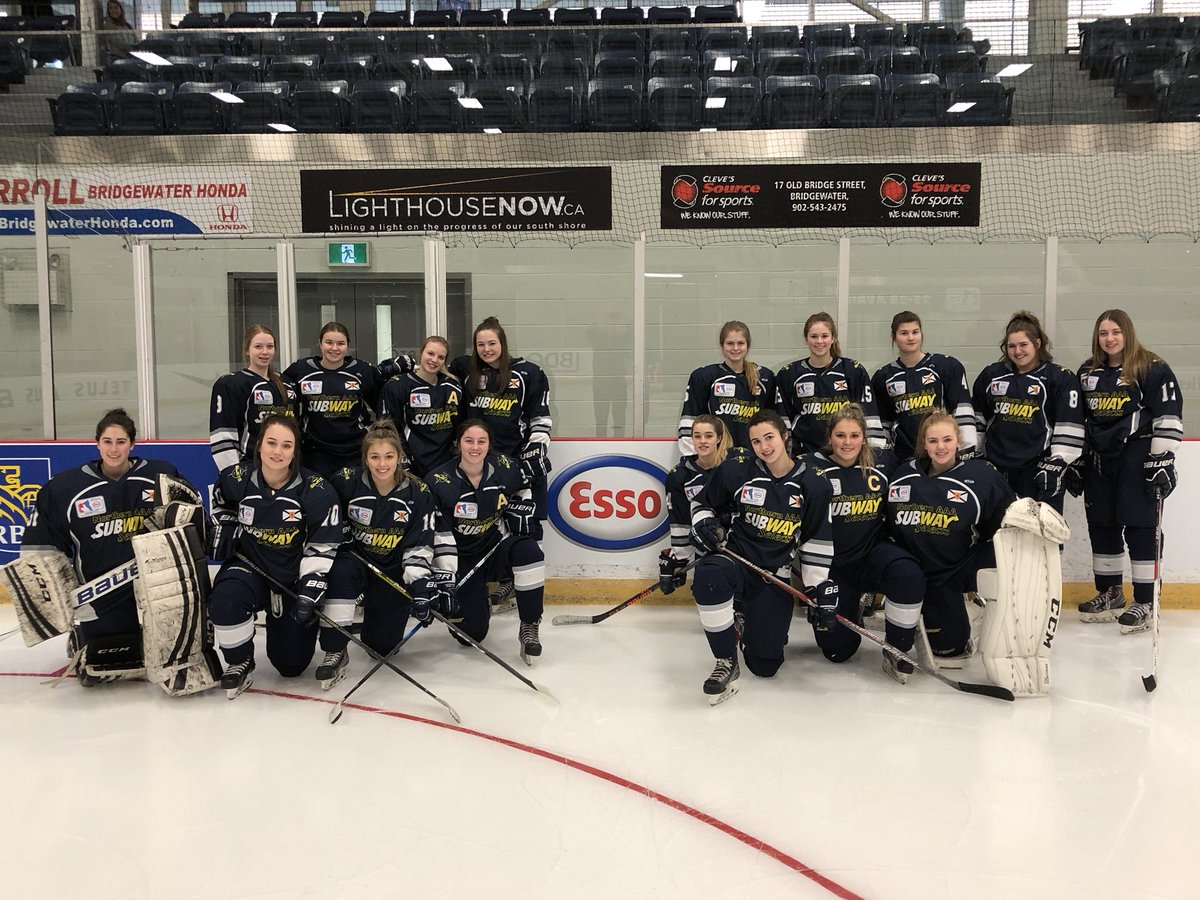 2018 National Female Midget Hockey Championship results (from Bridgewater Tuesday)