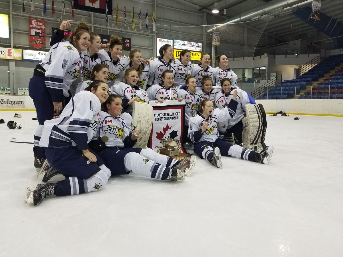 2018 Atlantic Female Midget AAA Hockey Championship results (from Mount Pearl, NFLD Sunday)