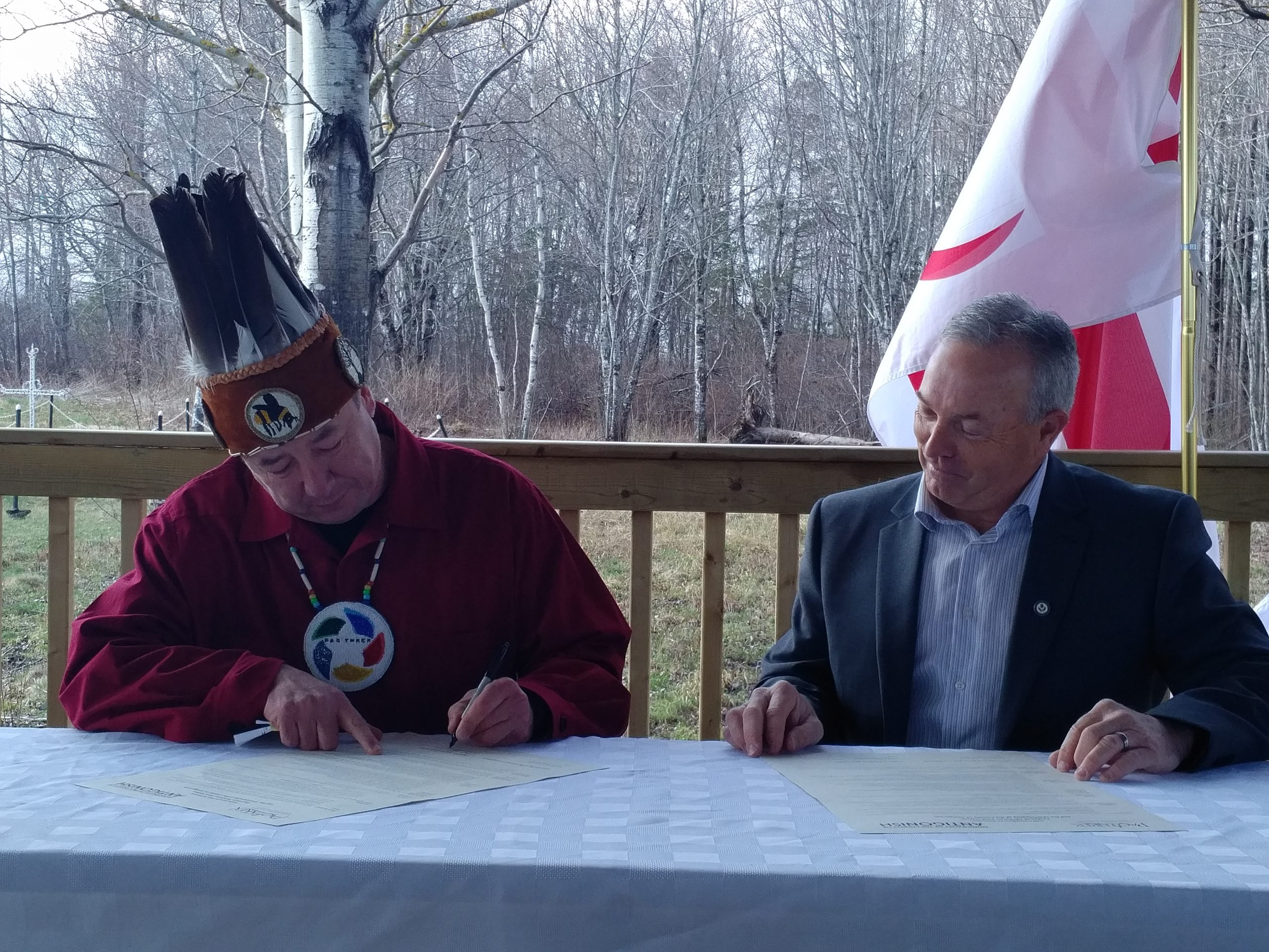 Antigonish Co., Paq'tnkek councillors take part in first joint council meeting