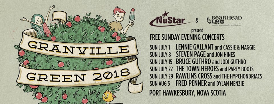 Cassie and Maggie, Lennie Gallant set to kick off Granville Green concert series