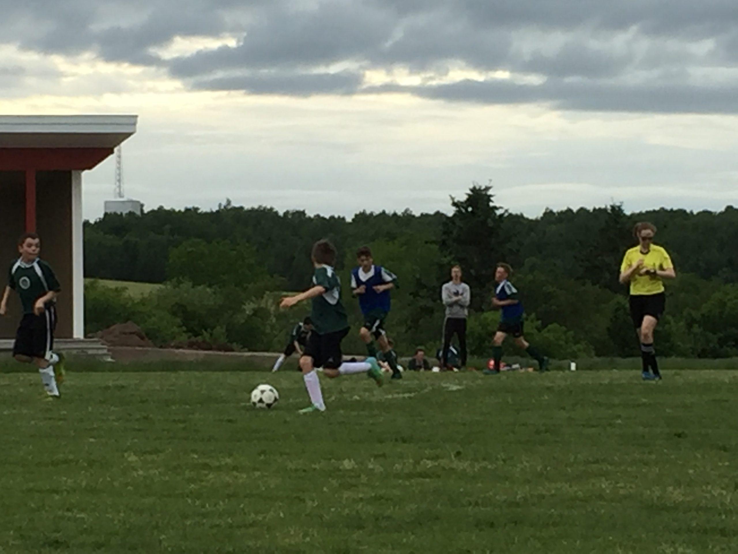 Highland Soccer League/U13 boys results (from Antigonish Thursday)