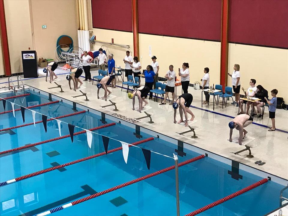 Junior Provincial Swim Meet results (Friday from Antigonish)