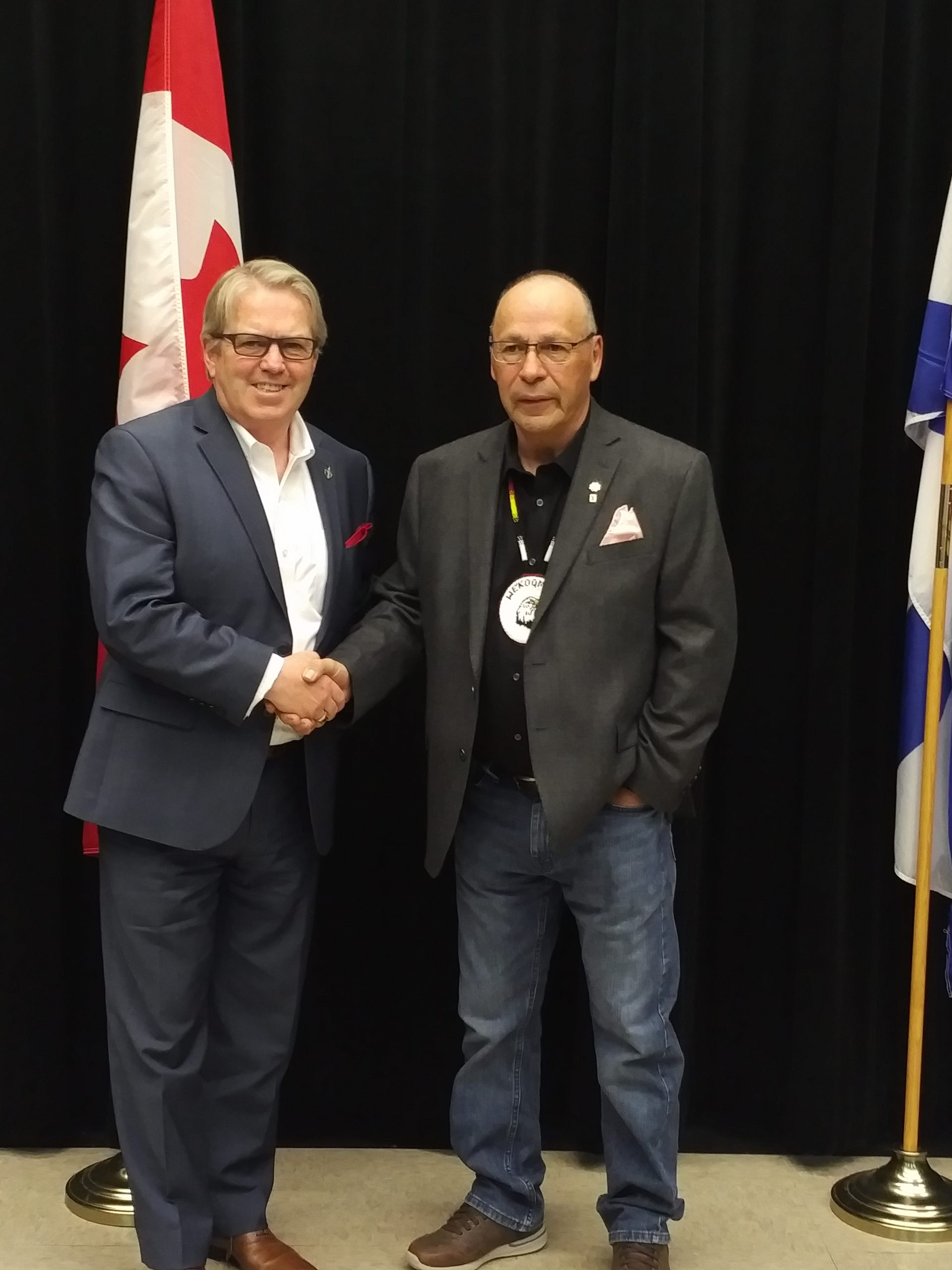 Federal officials contribute $1,000,000 to We'koqma'q First Nation's aquaculture operation