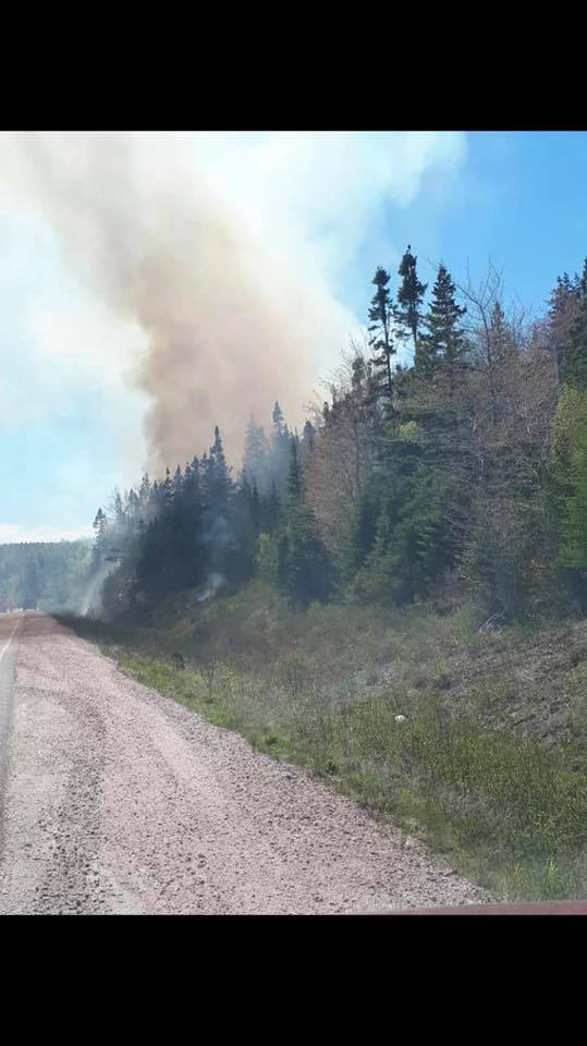 Parks Canada officials say Neil's Harbour fire contained