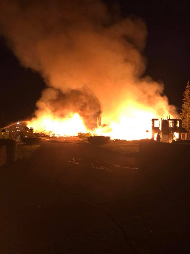 Fire destroys main building of Inverary Inn