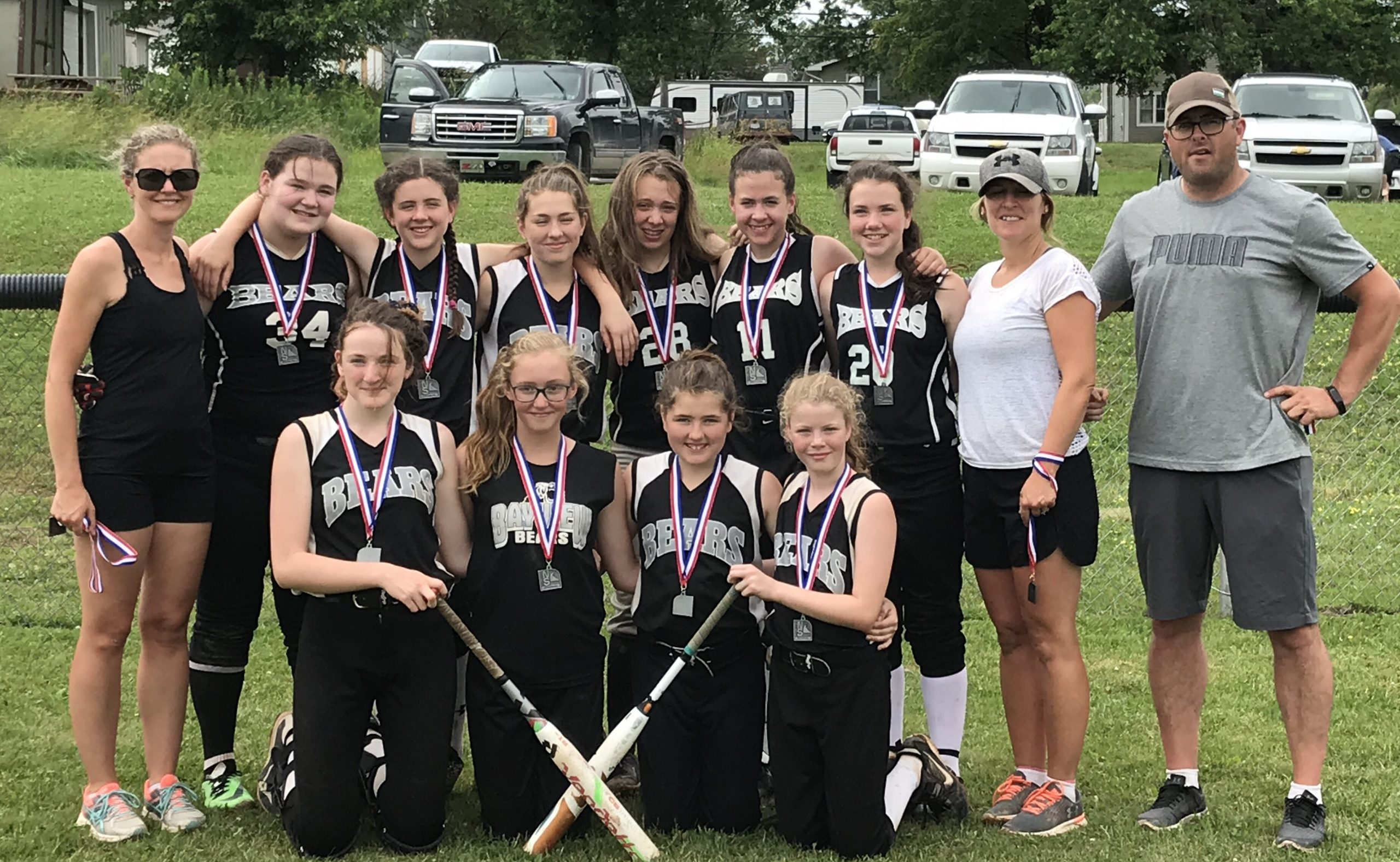U14 girls softball provincial results (from Stellarton Sunday)