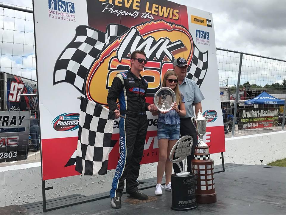 Clark wins IWK 250