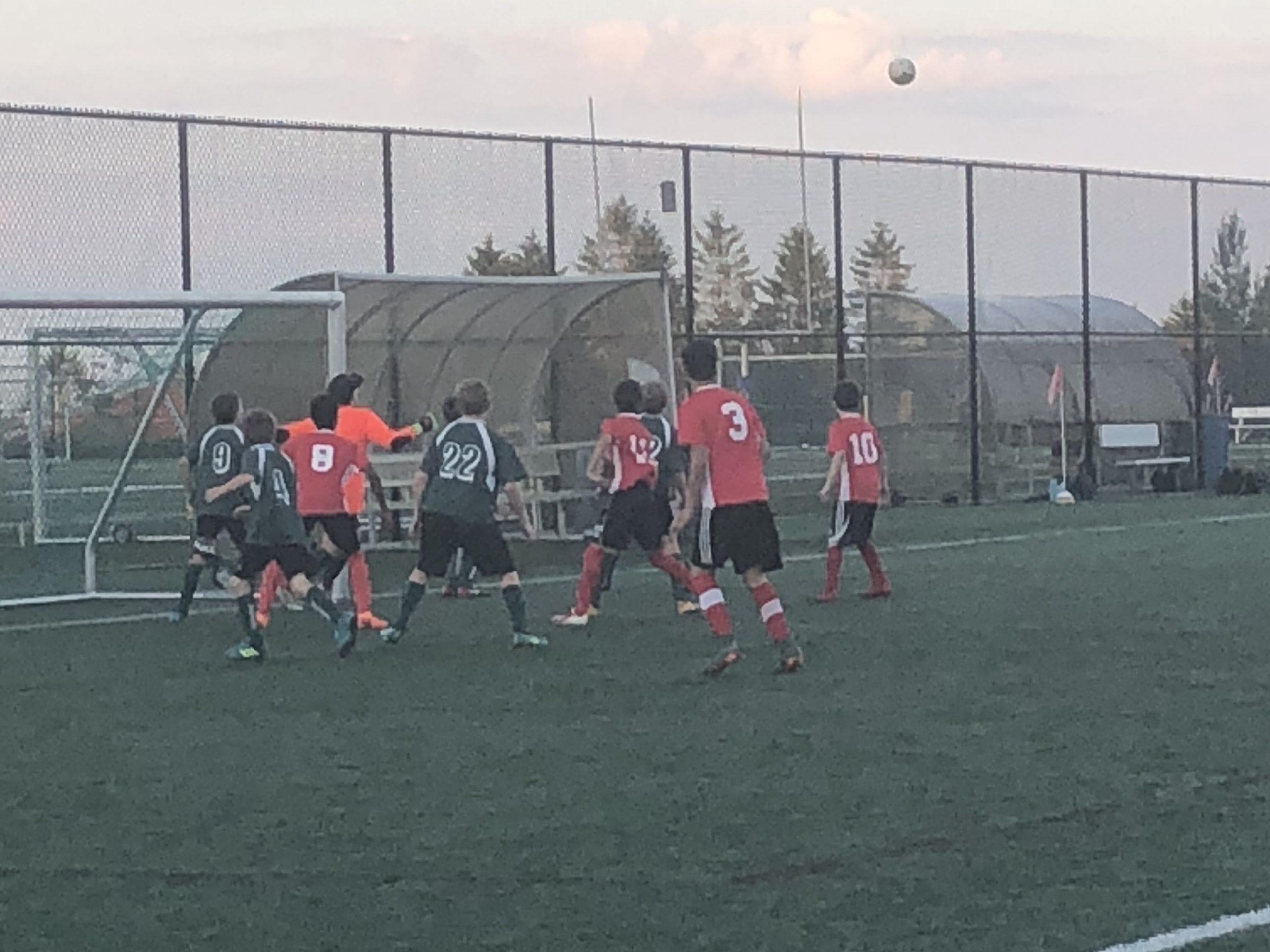 Nova Scotia Soccer League/U13A boys results (from Halifax Thursday)