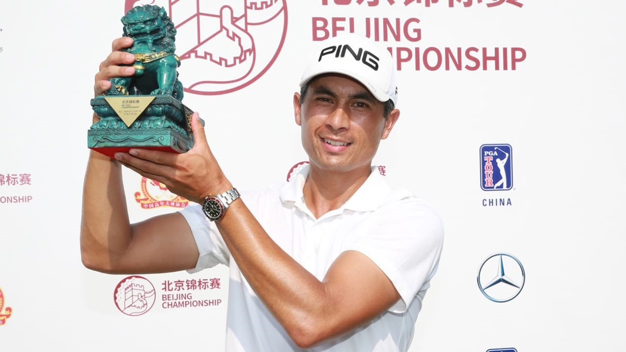 Campbell wins Beijing Championship