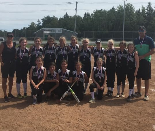U12 Girls Softball Provincials (From Dartmouth Sunday)