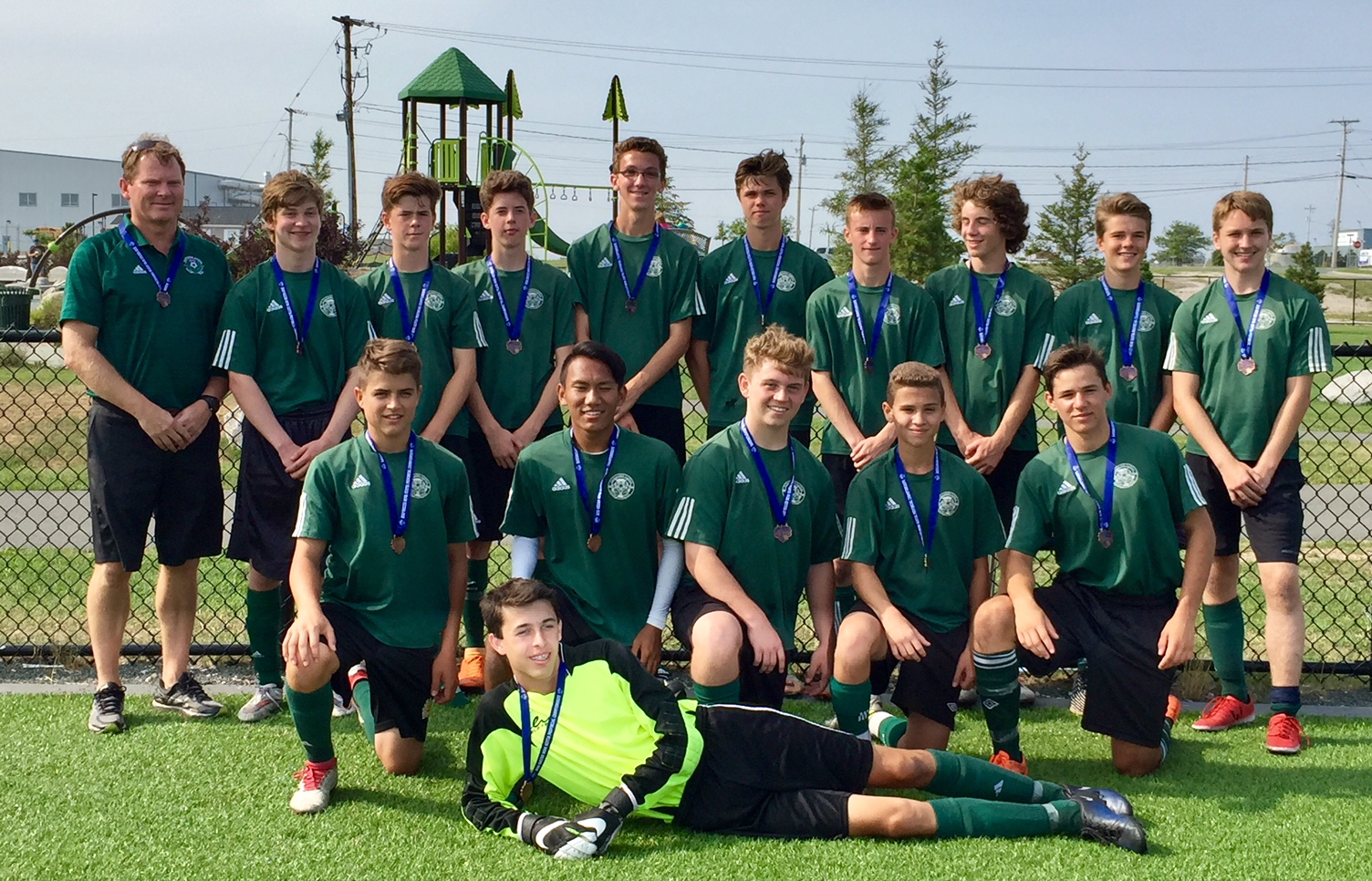 Soccer Nova Scotia U17A boys championship results (from Sydney Sunday)