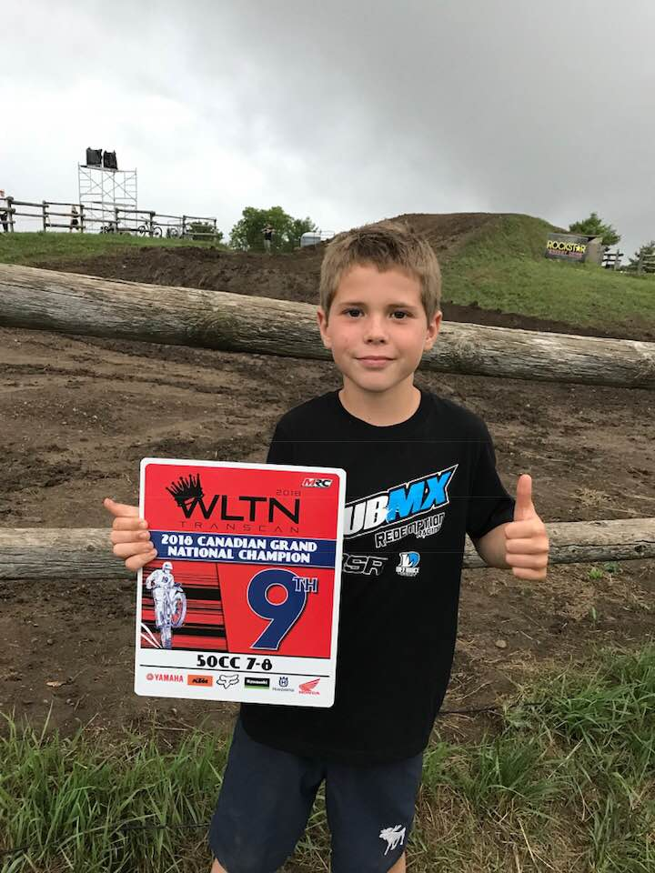 Port Hood Boy has strong showing at National Motocross Championship
