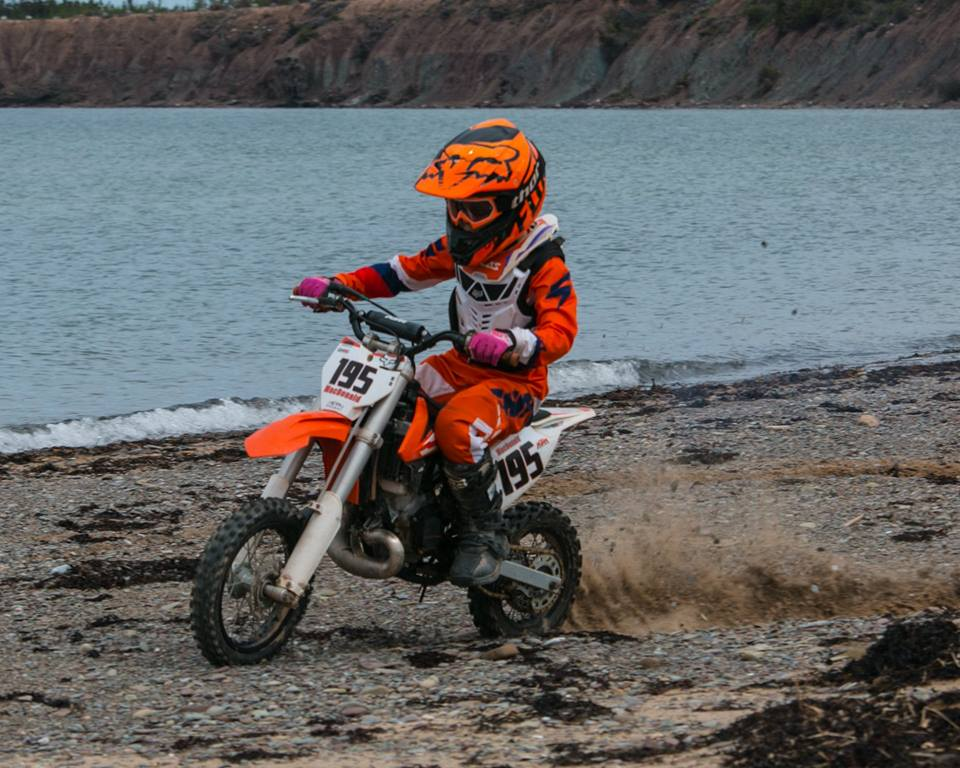 Port Hood youngster competing at National  Motocross Championship