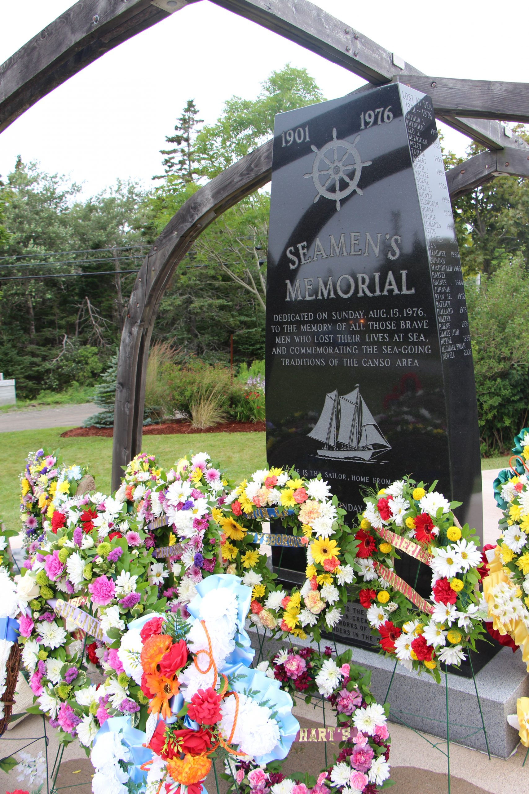 Seamans Memorial set for Canso Sunday