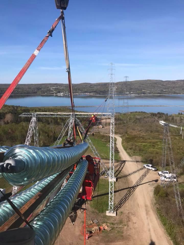 Strait construction project complete