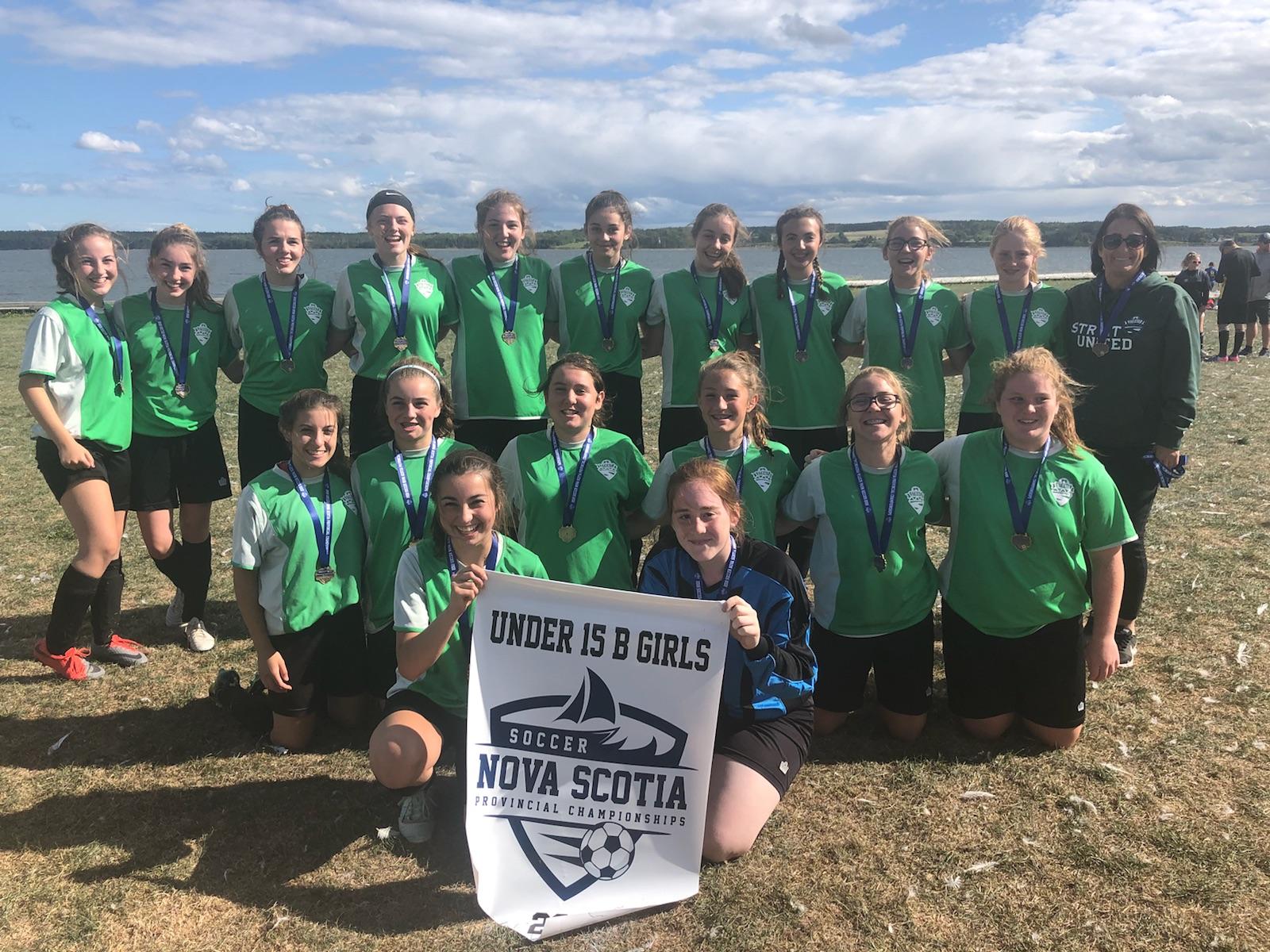 15UB girls soccer provincials results (from North Sydney Sunday)