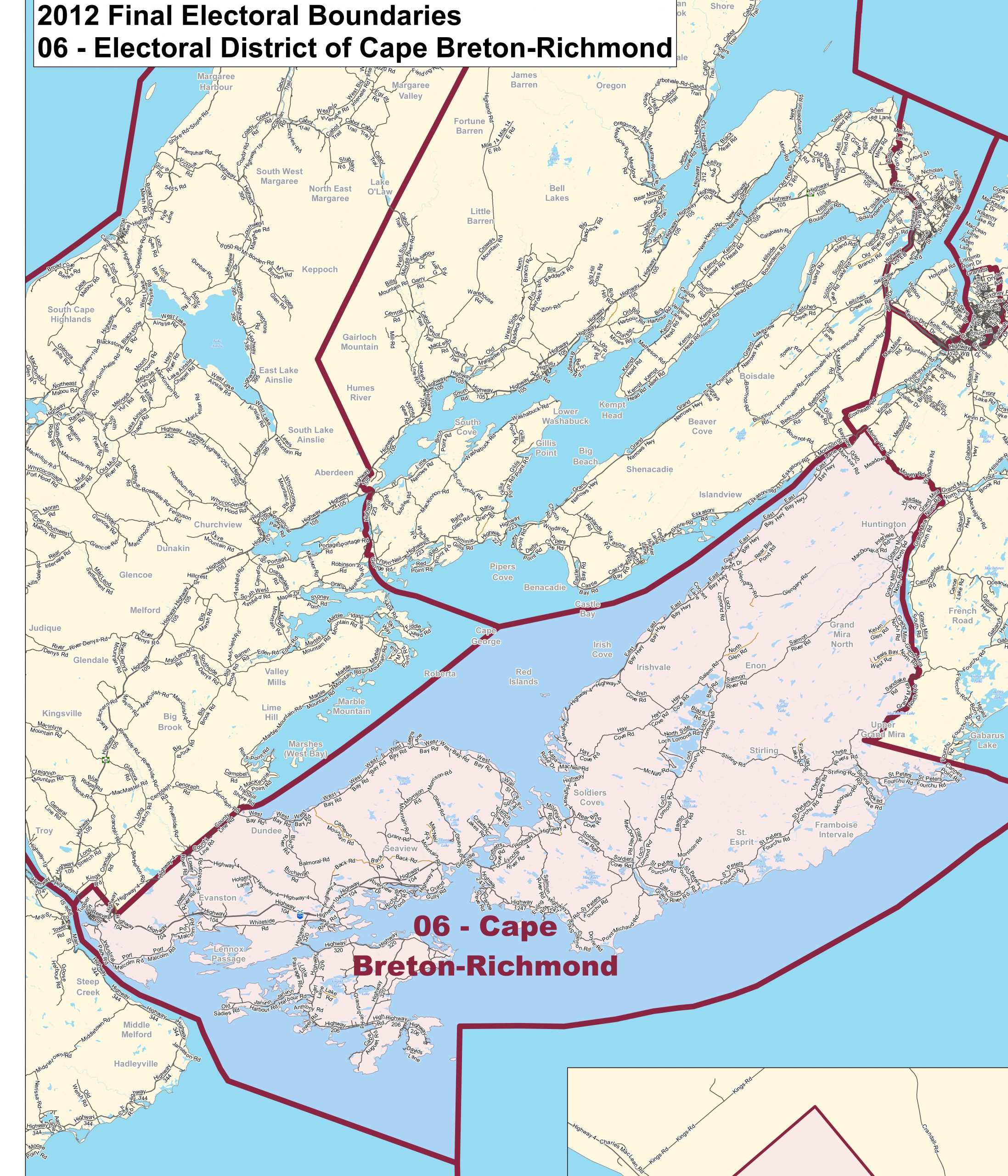 Electoral Boundaries Committee to hold public meetings