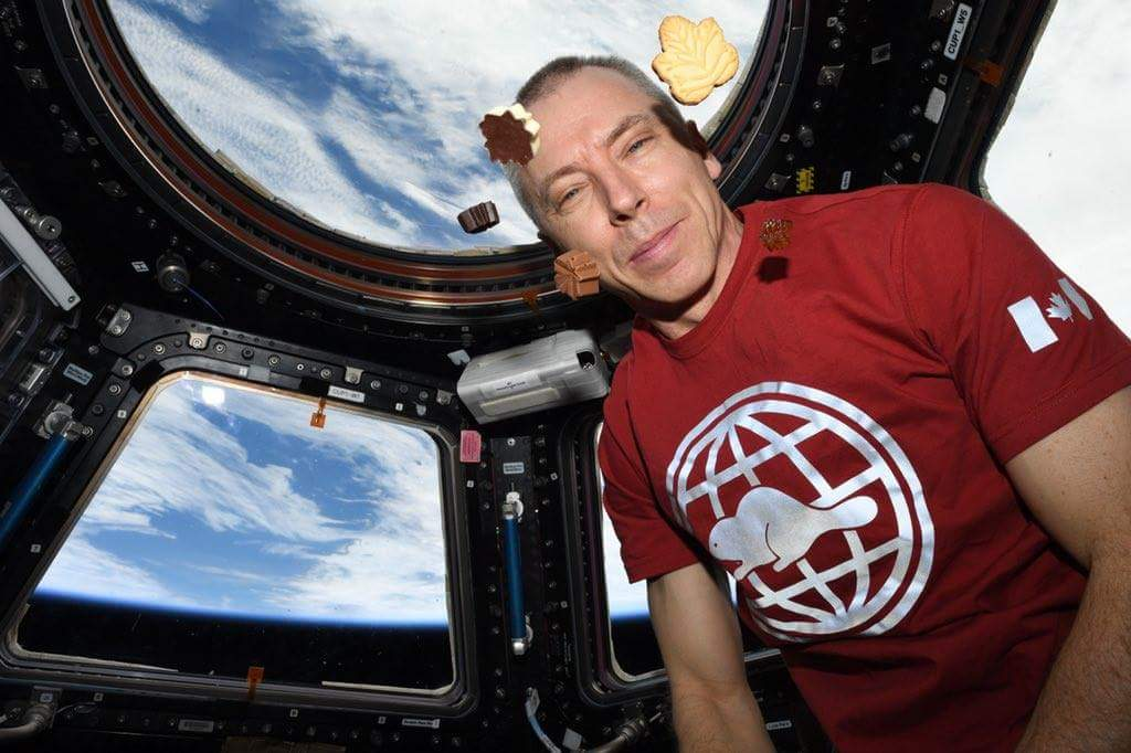 Peace by Chocolate eaten by ISS crew