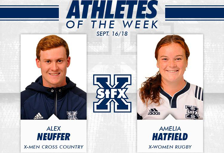 StFX Athletes of the week named