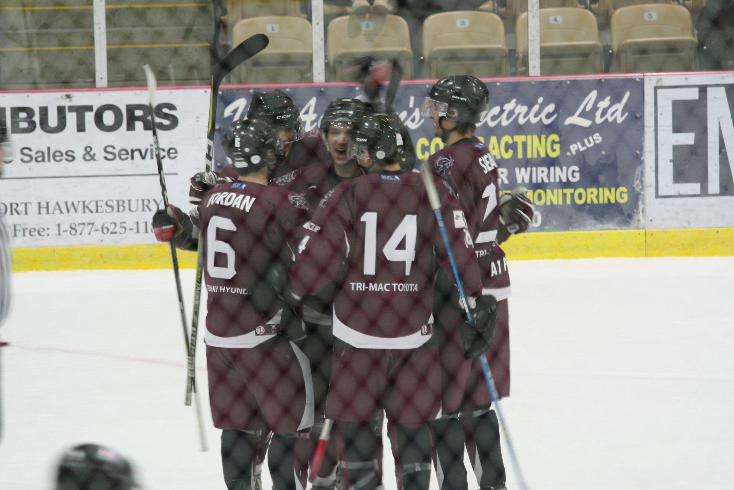 Nova Scotia Junior Hockey League result (from Port Hawkesbury Friday)