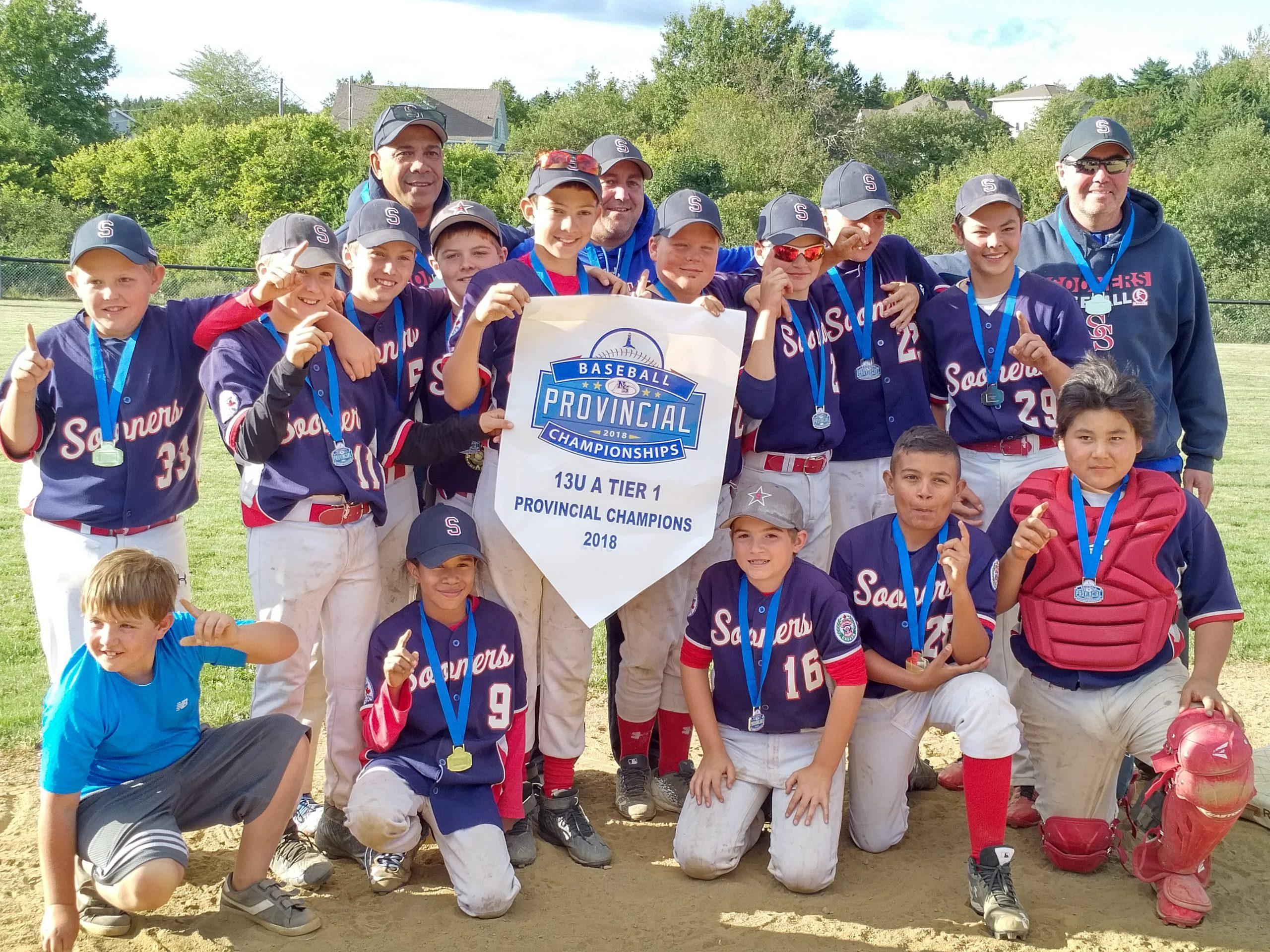 13UA peewee baseball provincials results (from Port Hawkesbury Sunday)