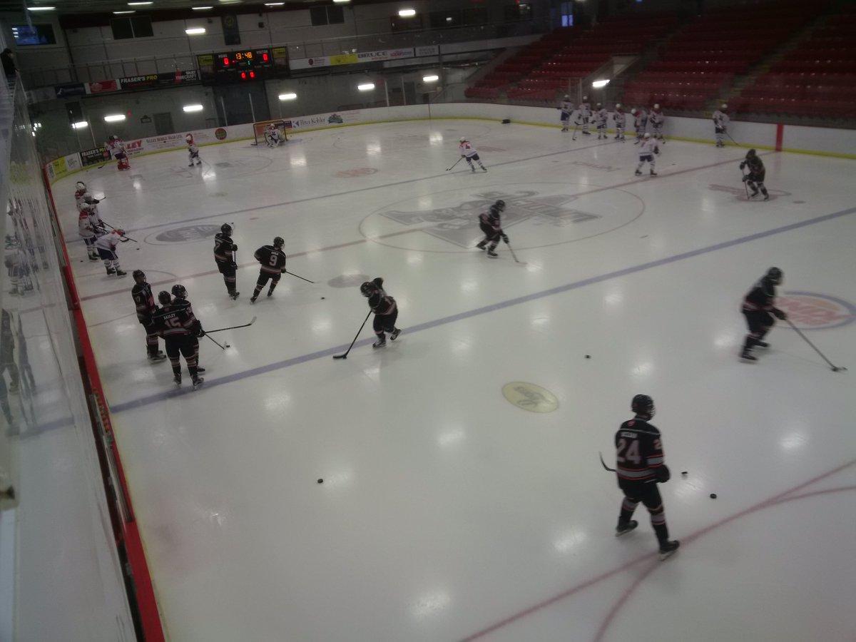 Nova Scotia Major Midget Hockey League results (from Berwick Saturday)