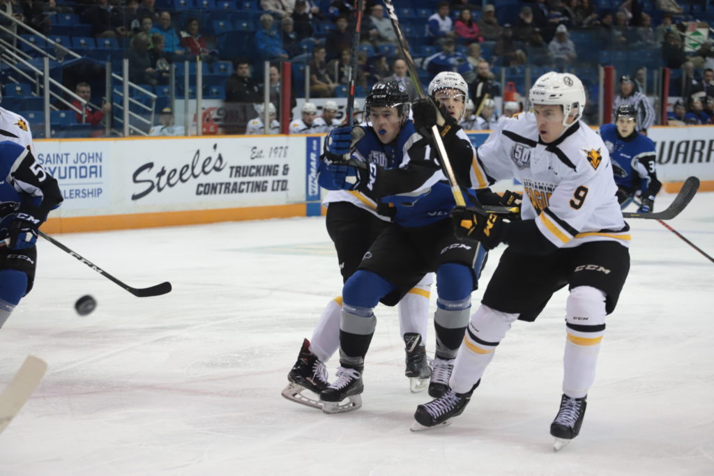 Quebec Major Junior Hockey League results (from Saint John Tuesday)