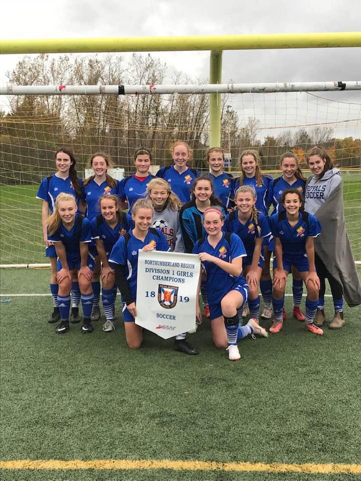 NSSAF Northumberland Region Div. 1 girls soccer championships results (from Antigonish Saturday)