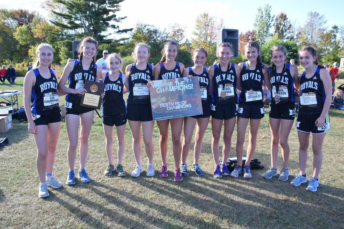 Dr JH Gillis athletes compete at cross country meet in Maine