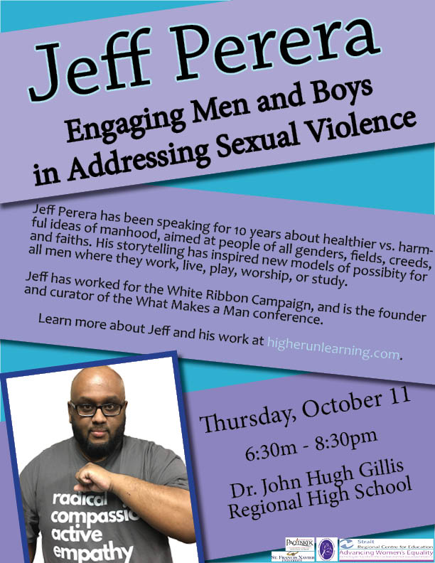 Sexual violence forum taking place in Antigonish