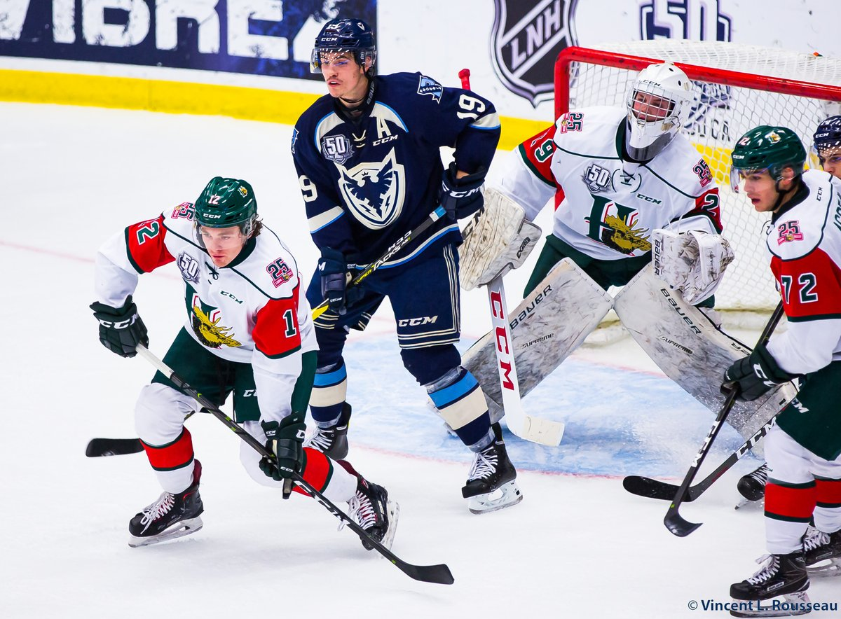 Quebec Major Junior Hockey League Results (from Sherbrooke