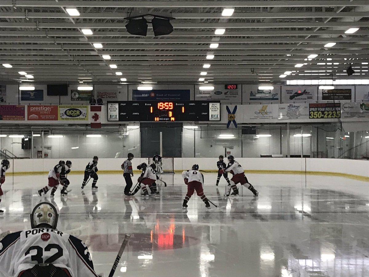 Nova Scotia Major Bantam Hockey League results (from Liverpool Sunday)