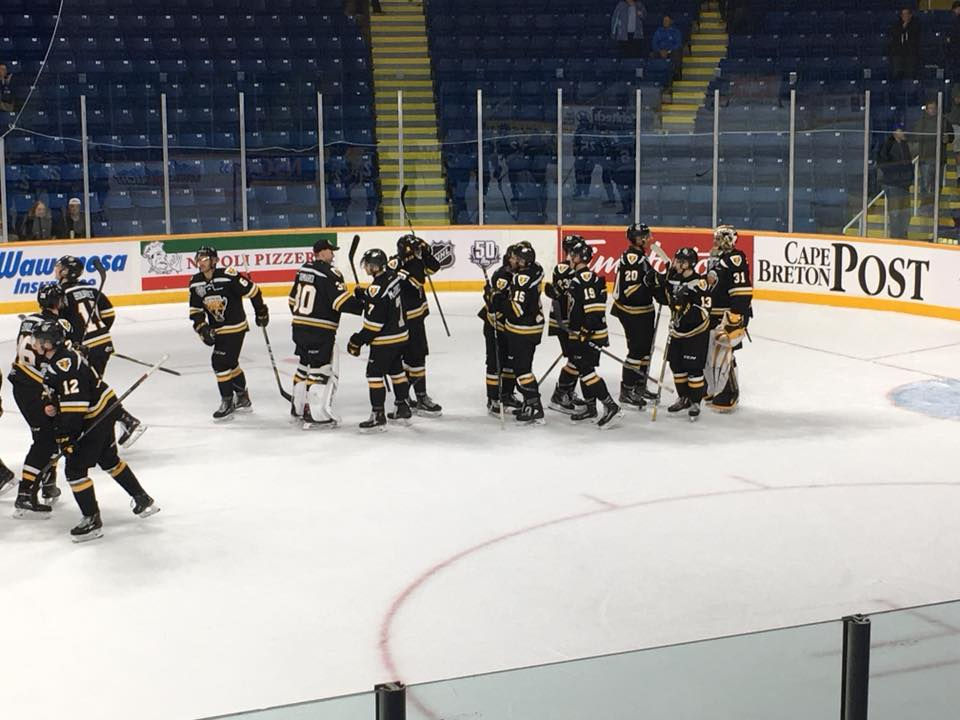 Quebec Major Junior Hockey League Results From Sydney Saturday
