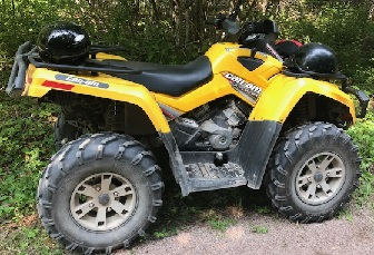 Police investigating Inverness Co. ATV theft