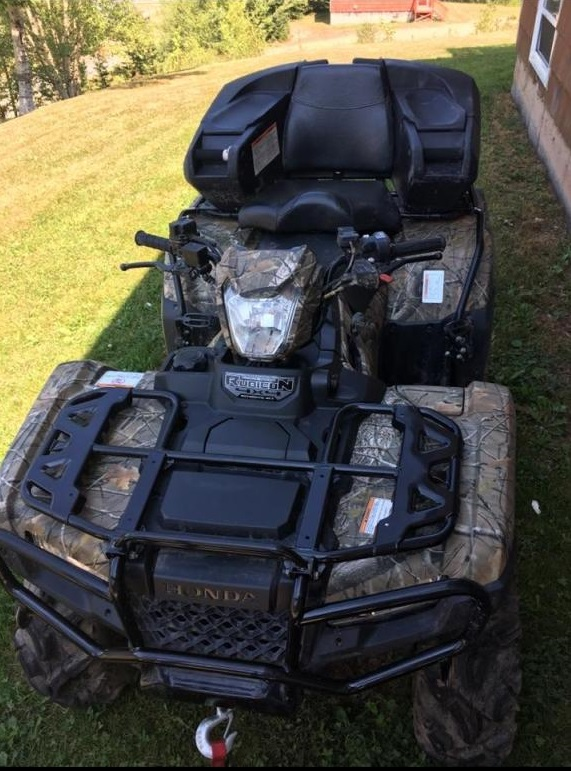 Another local ATV reported stolen