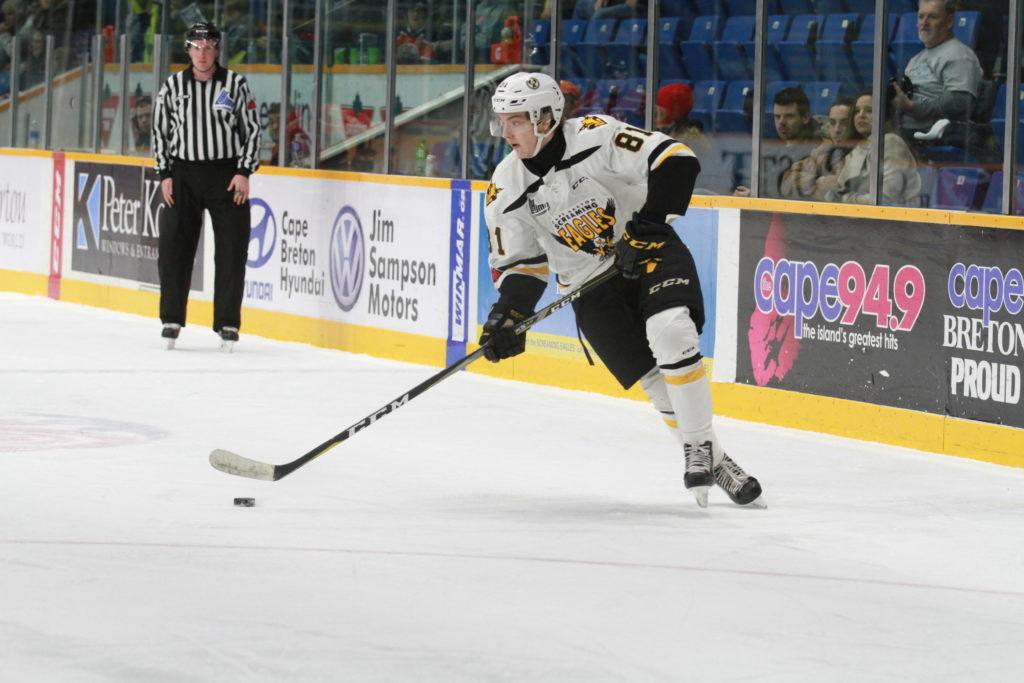 Quebec Major Junior Hockey League results (from Sydney Tuesday)