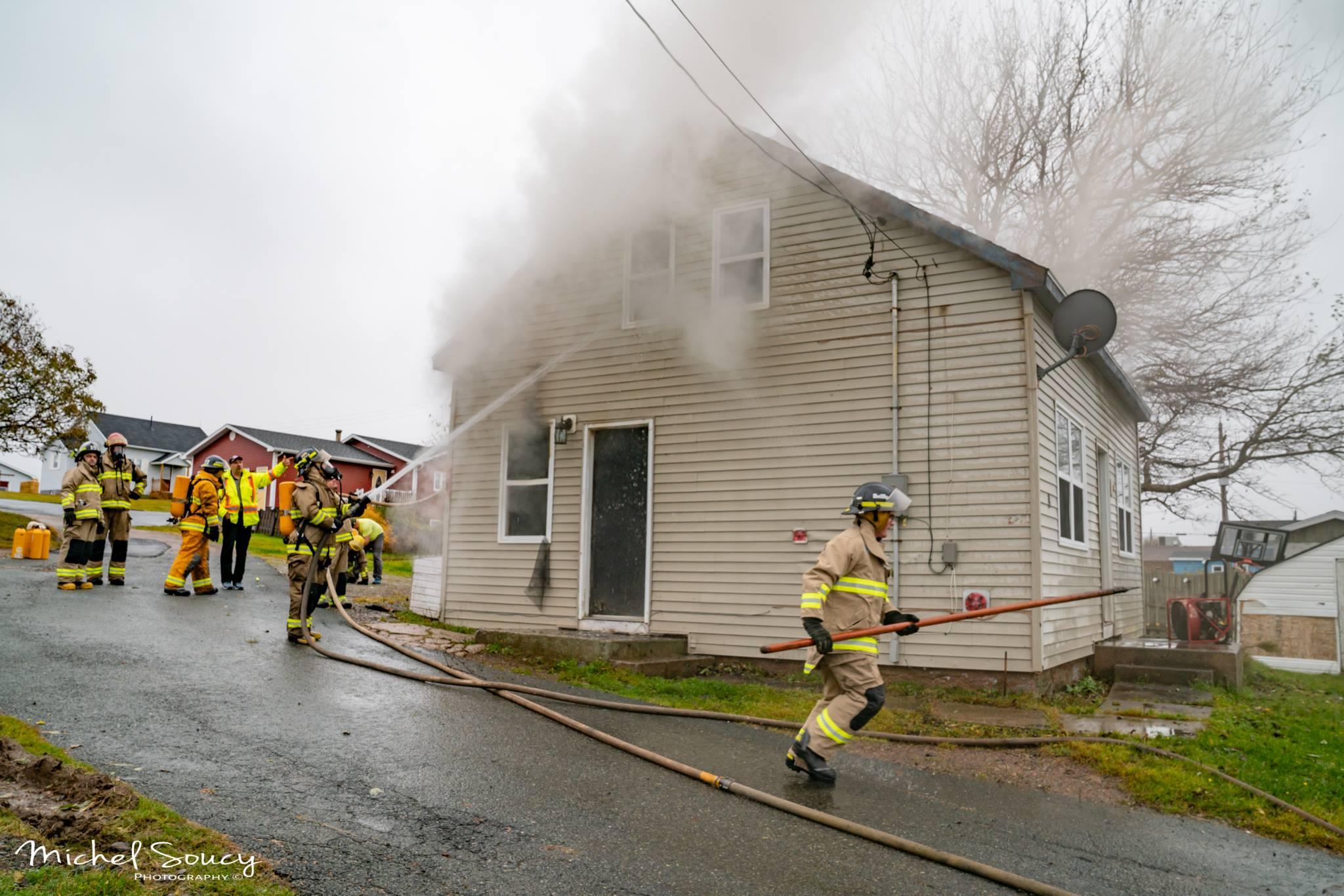Fire crews respond to Cheticamp fire