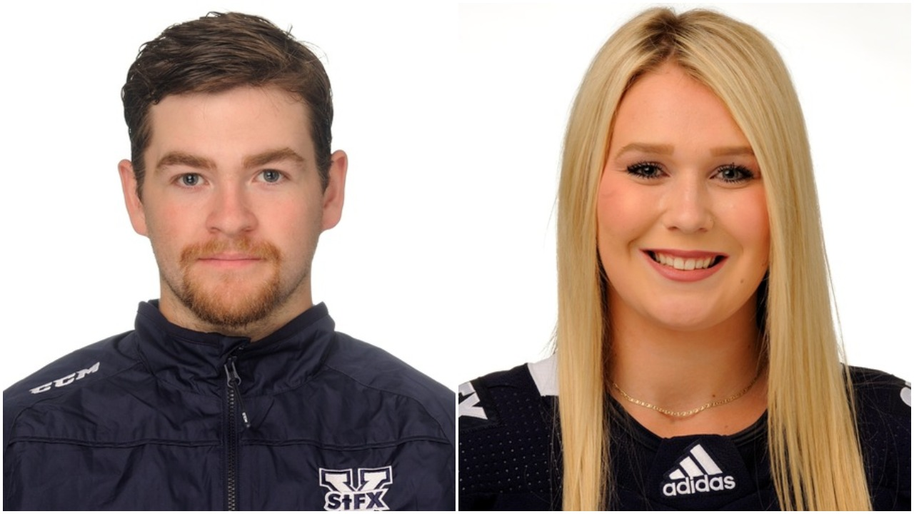 Hockey players take home StFX Athlete of the Week honours