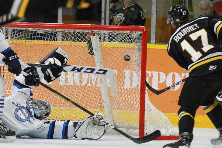 Quebec Major Junior Hockey League results (from Sydney Wednesday)