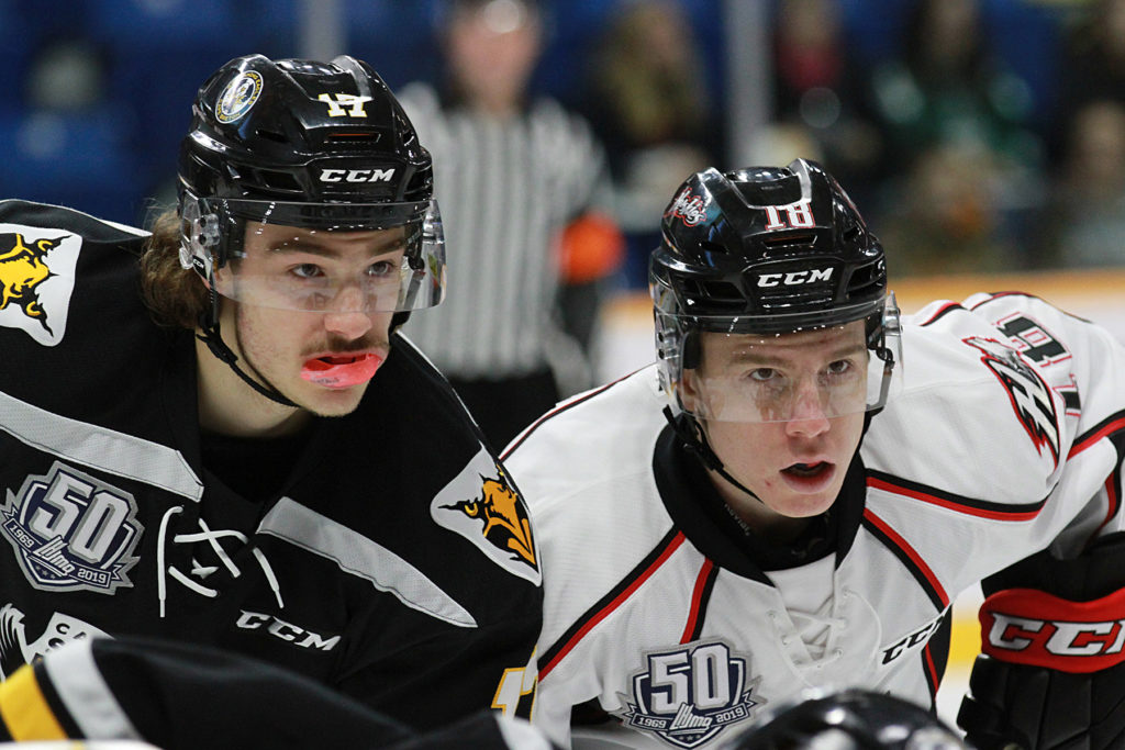 Quebec Major Junior Hockey League results (from Sydney Thursday)